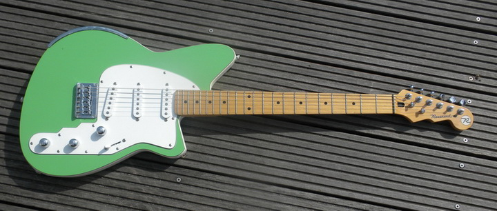 reverend guitars review