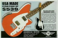 Reverend USA Guitar